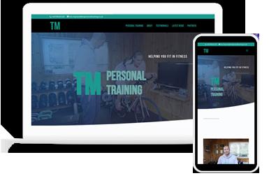 TM Personal Training | Web Design | Visiospective Digital Consultancy