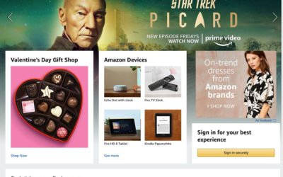How Amazon uses personalisation to get more sales